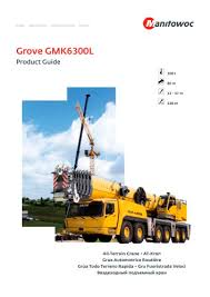 All Terrain Gmk6300l Manitowoc Cranes Pdf Catalogs