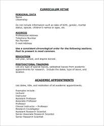8 Medical Cv Templates Download For Free | Sample Templates