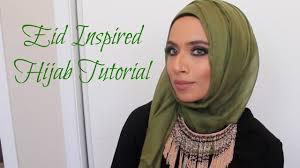 glamorous eid hijab tutorial saman munir