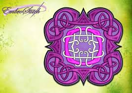 Celtic Knot Embroidery Designs Celtic Knot Embroidery Design 4 Sizes