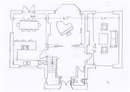 floor plan of a house with dimensions. Free Floor Plan Software Sample House Ground Of A With Dimensions