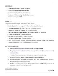 Key Skills In Resume For Mechanical Engineer Key Skill For Resume