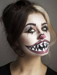 tutorial freaky clown nouvelle daily makeup makeup costumes