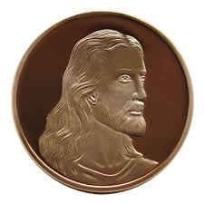 Image result for Jesus face on the coin