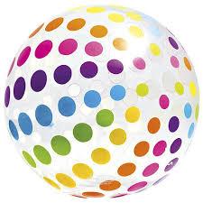 Большой <b>надувной мяч</b> Jumbo 107 см купить в Москве по цене ...