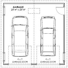 double garage sizes two car garage size full image for garage minimum size  for a 2