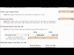 How To Price A Construction Job Post Construction Cleaning Calculator For Commercial Cleaning