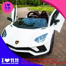 Báo giá Xe ô tô điện trẻ em Lamborghini Aventador LT998 (Cỡ to) -Xe ô tô  điện điều khiển từ xa- Xe điện cho bé, xe đồ chơi, xe ô tô đạp