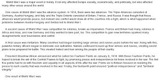 world war essay world war i research essay the great war world war 1 at com