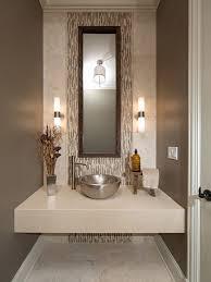 bathroom decor ideas unique decorating: bathroom design fascinating contemporary half bath decorating ideas also unique silver color washbowl design and