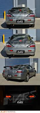 S15 Led Lights Details About Black Led Tail Lights For Nissan Silvia 200sx S15 Sr20det Taillight Turbo Jdm