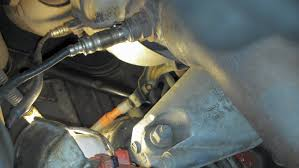 diy charging system full diagnostic alternator battery lexus is on the is300 the ground is bolted behind the passengerside motor mount here s a pic of it remember that a termination lug grounds under the battery tray