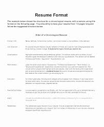 Best Resume Format 2017 Stunning Current Resume Samples 60 Best Of Best Resume Format 60 Current