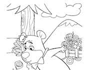 Yogi bear coloring pages for childrens printable for free. Yogi Bear Coloring Pages Print Yogi Bear Pictures To Color All Kids Network