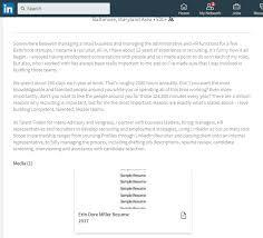 Upload Resume To Linkedin Stunning 2723 Uploading A Resume To Your LinkedIn Profile