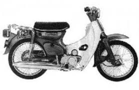 honda c70 cub 70 c70m cl70 passport manual