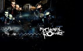 my chemical romance Обои probably containing a sign led mcr Обои