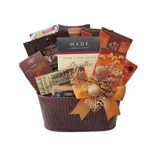 chocolate mosaic gift basket