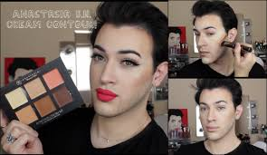anastasia beverly hills cream contour kit review demo mannymua you