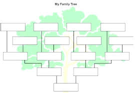 Family Tree Sheets Printable Solacademy Co