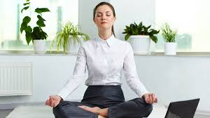 Image Eye Closed Office Yoga Meditation Yoga Journal Restart Your Work Day With Yoga For The Office Yoga Journal