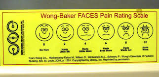 Wong Baker Chart Fancy Faces Improved Pain Chart October 30 2010