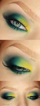 makeup tutorials for green eyes sleek del mar ii bold bright green eyes makeup