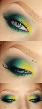 makeup tutorials for green eyes sleek del mar ii bold bright green eyes makeup