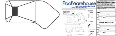 pool liner measurements in ground swimming pool liners Inground Pool Diagram lazy l vinyl inground pool liners inground pool diagram