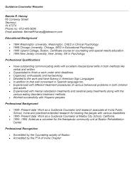Resume For School Counselor Position Professional User Manual Ebooks