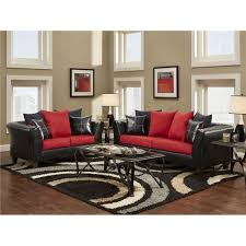 red living room sets. Red+and+Black+Tables | Delta Furniture Manufacturing Cardinal Red And Black Living Room Sets