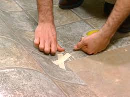 Kitchen Sheet Vinyl Flooring How To Install Vinyl Flooring How Tos Diy