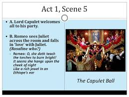 romeo and juliet by william shakespeare ppt  16 act 1 scene 5