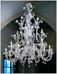 venitian glass chandelier image detail for large traditional clear glass chandelier venetian glass chandeliers uk