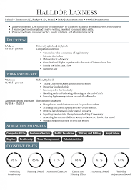 Internships Resume Sample New Graduate Page 2 Student Distinctive