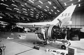 hangar mechanic inspection airline mechanics inspect the jet engine turbine engine mechanic