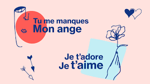 in french and other romantic phrases