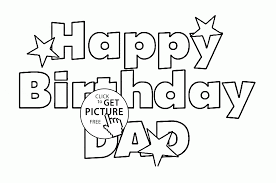 Small Picture Coloring Pages For Dads Birthday Free Coloring Pages Of Dad