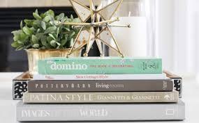 coffee table book decor image and description