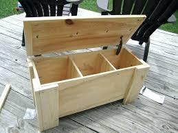 black wood storage bench black wood