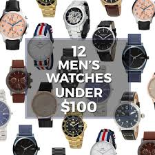 12 incredible men s watches you can get for under 100 gift alert watches