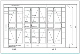 minimum bedroom closet size standard walk in sizes door