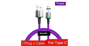Mobile Phone Cables - <b>Baseus Zinc Magnetic</b> USB Type C Cable for ...