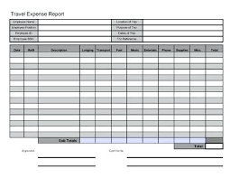 Mileage Report Templates Travel Expense Report Mileage Log Templates More From Business