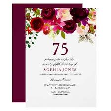 text invitation birthday party the best 75th birthday invitations and party invitation