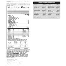 Protein Powder Comparison Chart Why You Should Avoid Garden Of Life Raw Meal Fit Sport
