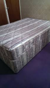 double bed with orthopaedic mattress 4b15c307 jpg