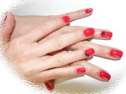 červené 1 Gelové Nehty Galerie Kosmetické Služby Nicol