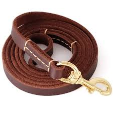 2019 brown 6ft 5ft genuine leather dog leash leads rope for large medium small dogs training walking from ysfbest132400 72 62 dhgate com