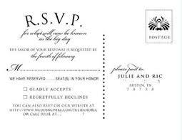 Rsvp Card Wording Kupit Optom Cards